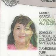 Ana Gloria Garcia Gonzalez